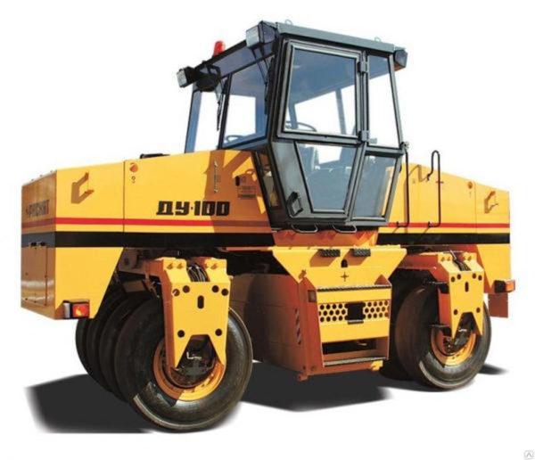 Каток дорожный самоходный ДУ-100