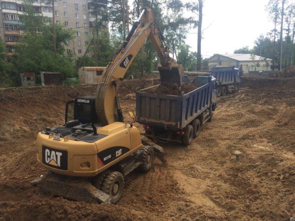 Вывоз грунта глины