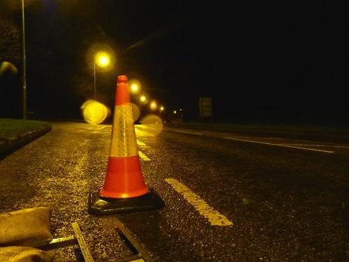 Ночные дорожные работы