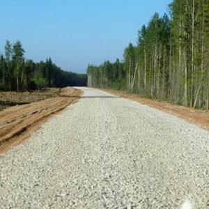 Строительство дорог с щебёночным покрытием